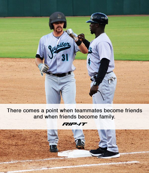 Senior Night Quotes For Softball: Teammates Are Family On And Off The Field. #RIPITSports