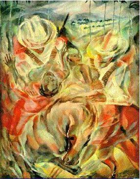 Image result for el rapto de las mulatas pintura