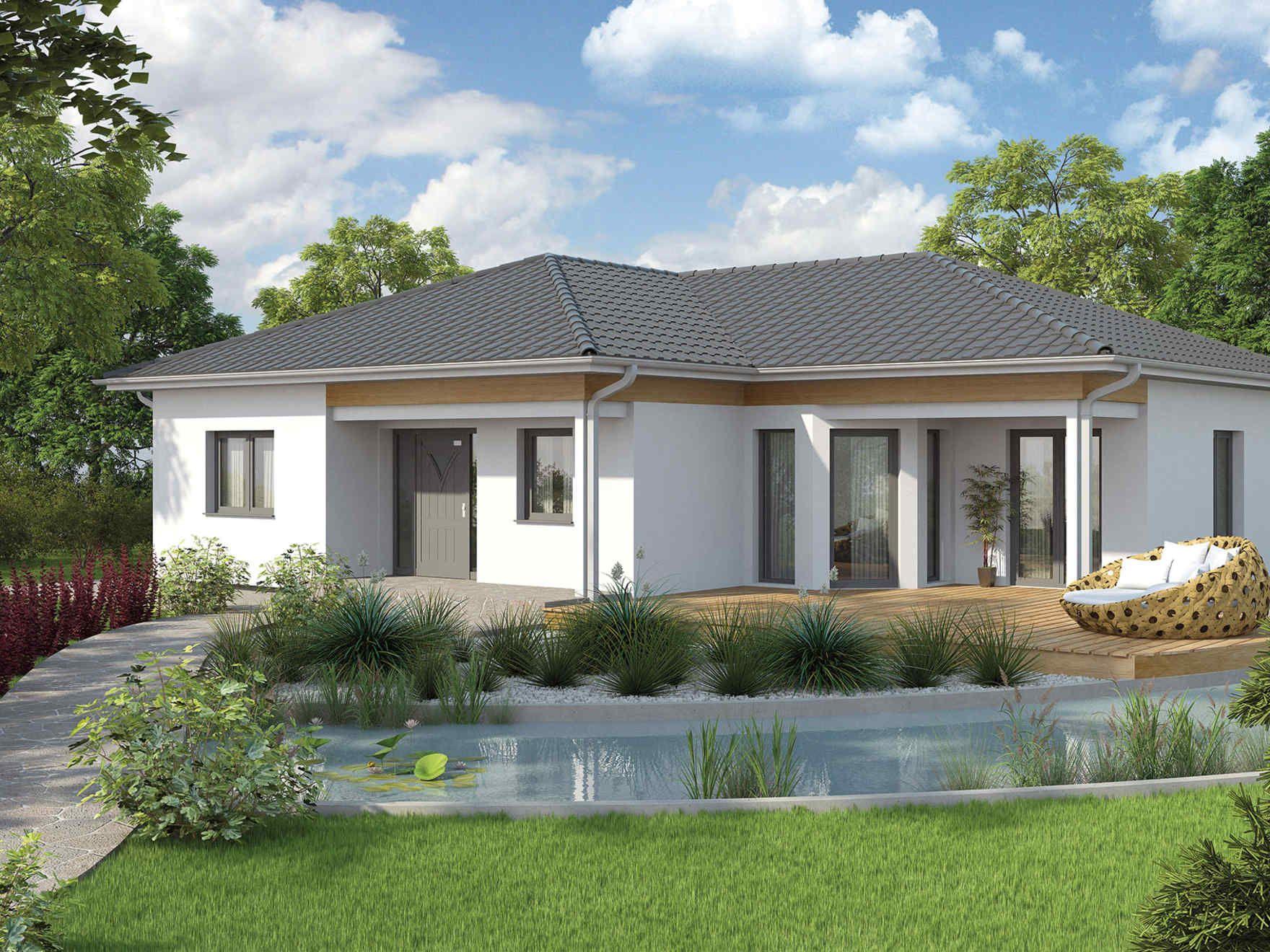 Vario haus bungalow we136 gibtdemlebeneinzuhause for Einfamilienhaus modern walmdach