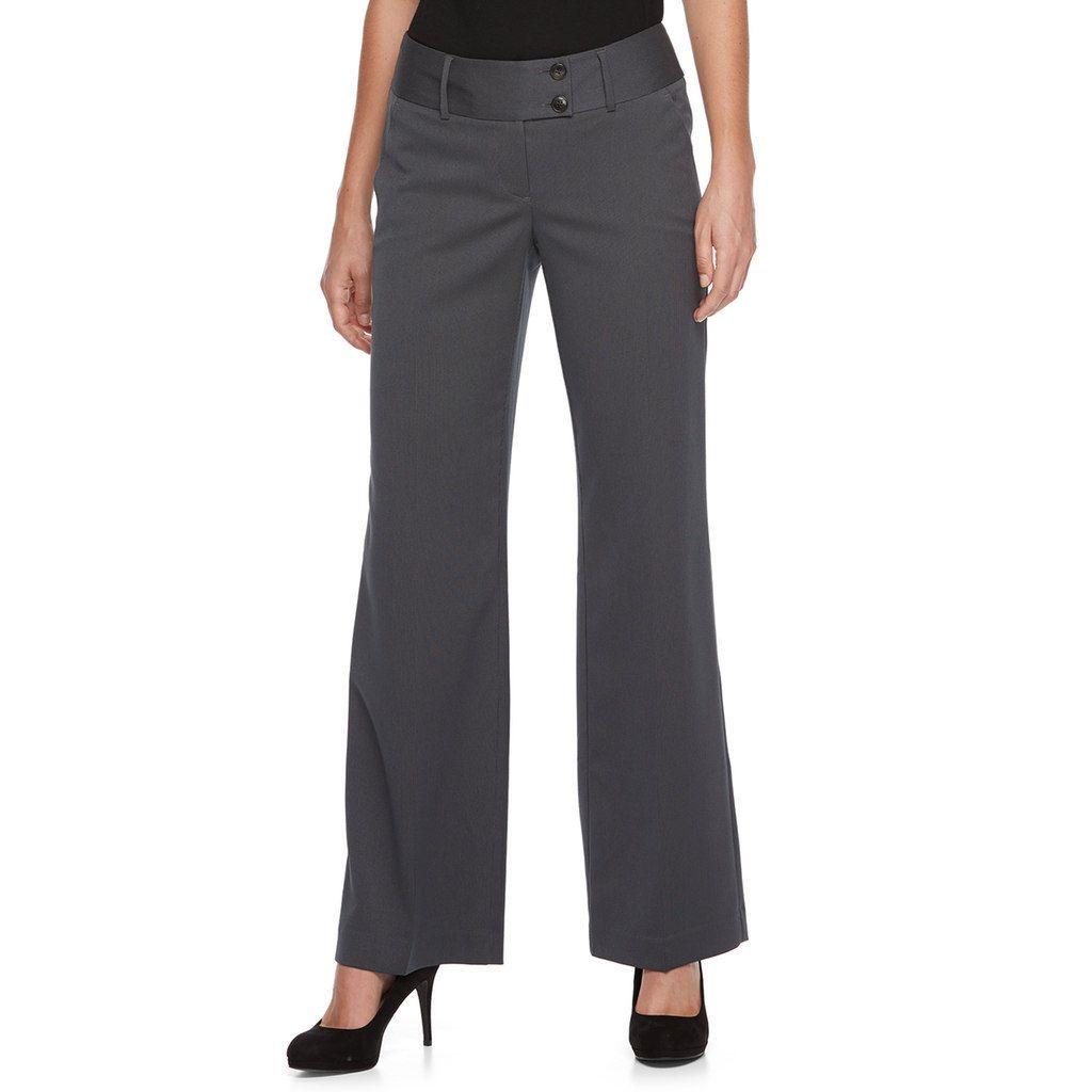 4b0c296b1403c Women s Apt. 9® Modern Fit Wide-Leg Dress Pants