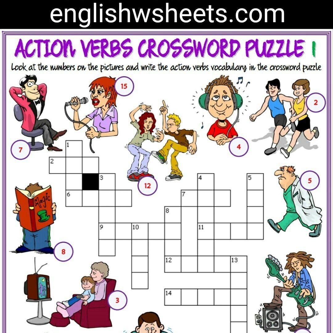 Printable Lexicon Puzzles Printable Crossword Puzzles Kindergarten Subtraction Worksheets Math Subtraction [ 1080 x 1080 Pixel ]