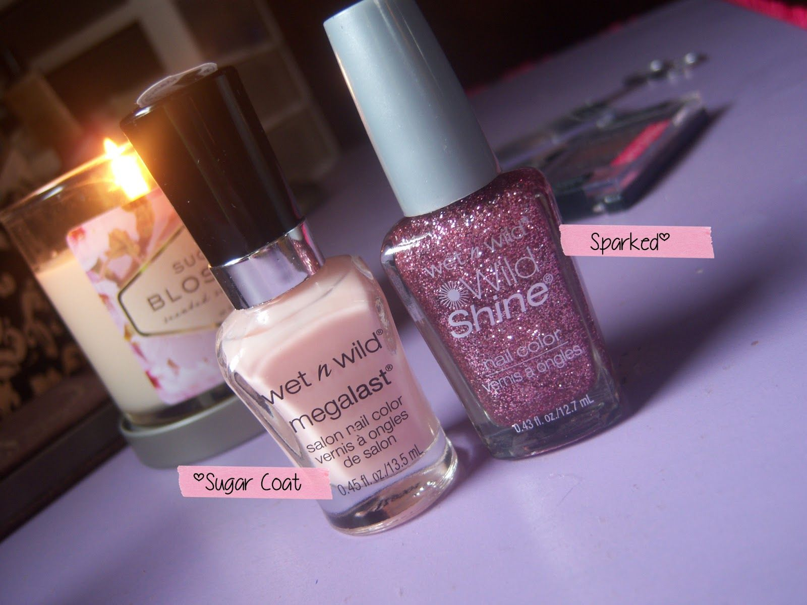 5: Wet n Wild nail polish. Sparked is a lot like Essie\'s A Cut Above ...