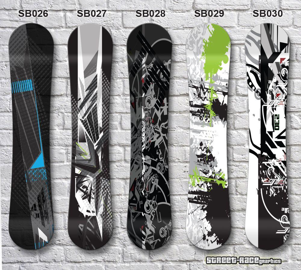 Printed Laminated Air Release Easy Apply Snowboard Vinyl Graphics From Street Race Org Inkjet Vinyl Vinyl Snowboard