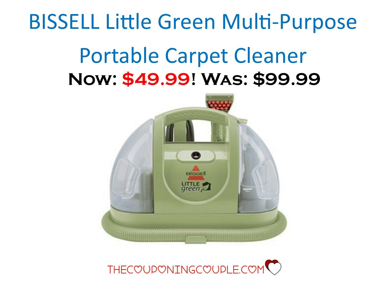 how to use bissell little green pet