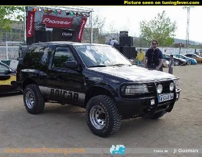 Opel Frontera Opel Pinterest 4x4 And Cars