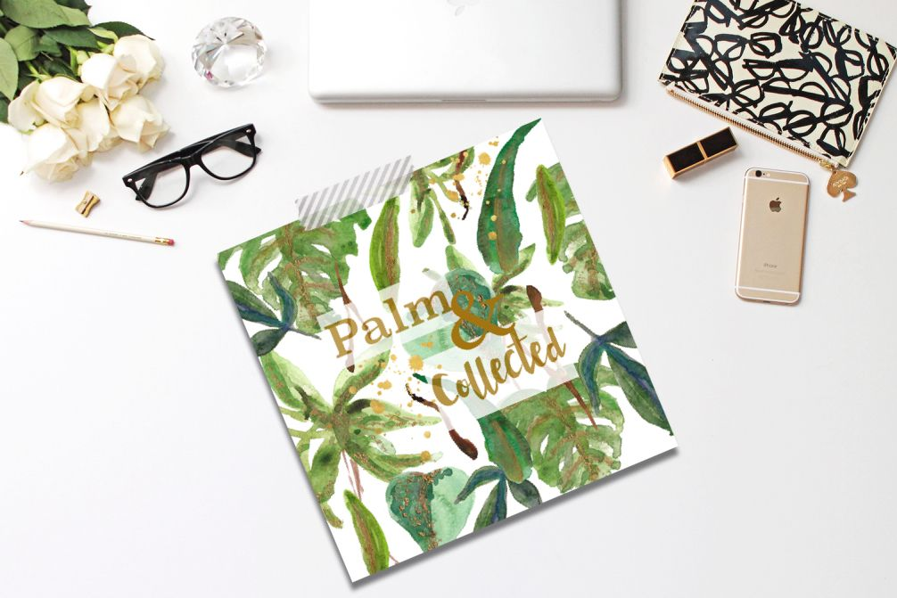Palm & Collected art print