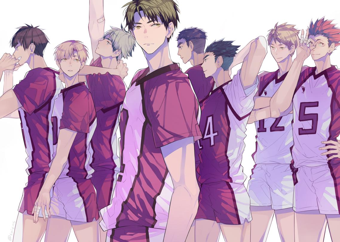 Twitter Ushijima Wakatoshi Shiratorizawa Haikyuu Anime