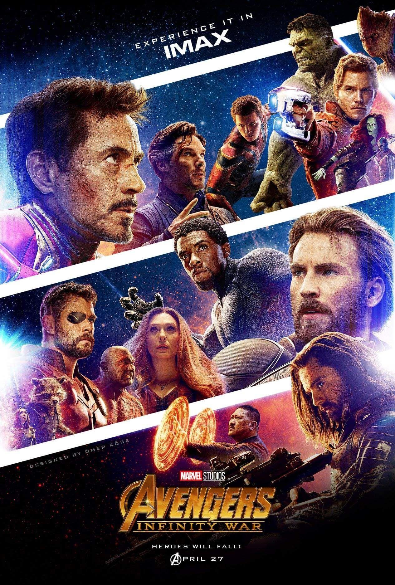Avengers Infinity War Poster By Omer Kose Avengers Marvel Marvel Superheroes