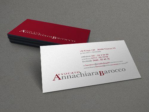 Biglietti Da Visita Per Avvocati Annachiara Barocco Biglietti Da Visita Viso Biglietto
