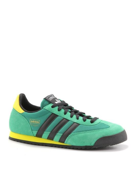 e9887546759b adidas Originals Dragon  Green Black Yellow