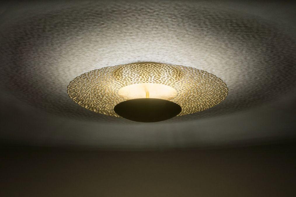 ARTIKEL 72904 Grote, sfeervolle plafondlamp voorzien van led ...