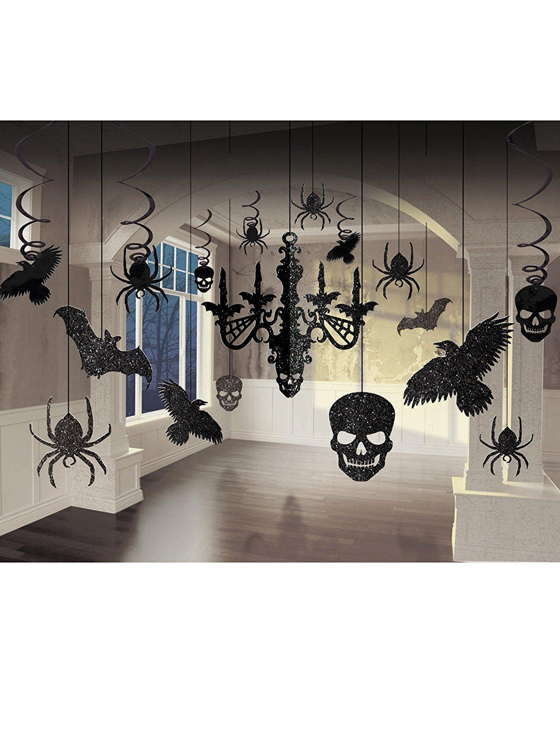 The Best Halloween Party Decor On Amazon Right Now Halloween - halloween houses decorated