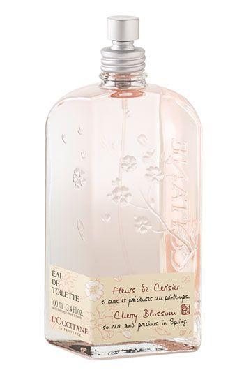 L Occitane Cherry Blossom Eau De Toilette Nordstrom Perfume