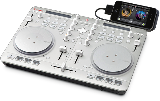 Spin2 allinone DJ controller for Mac, iPad, and iPhone