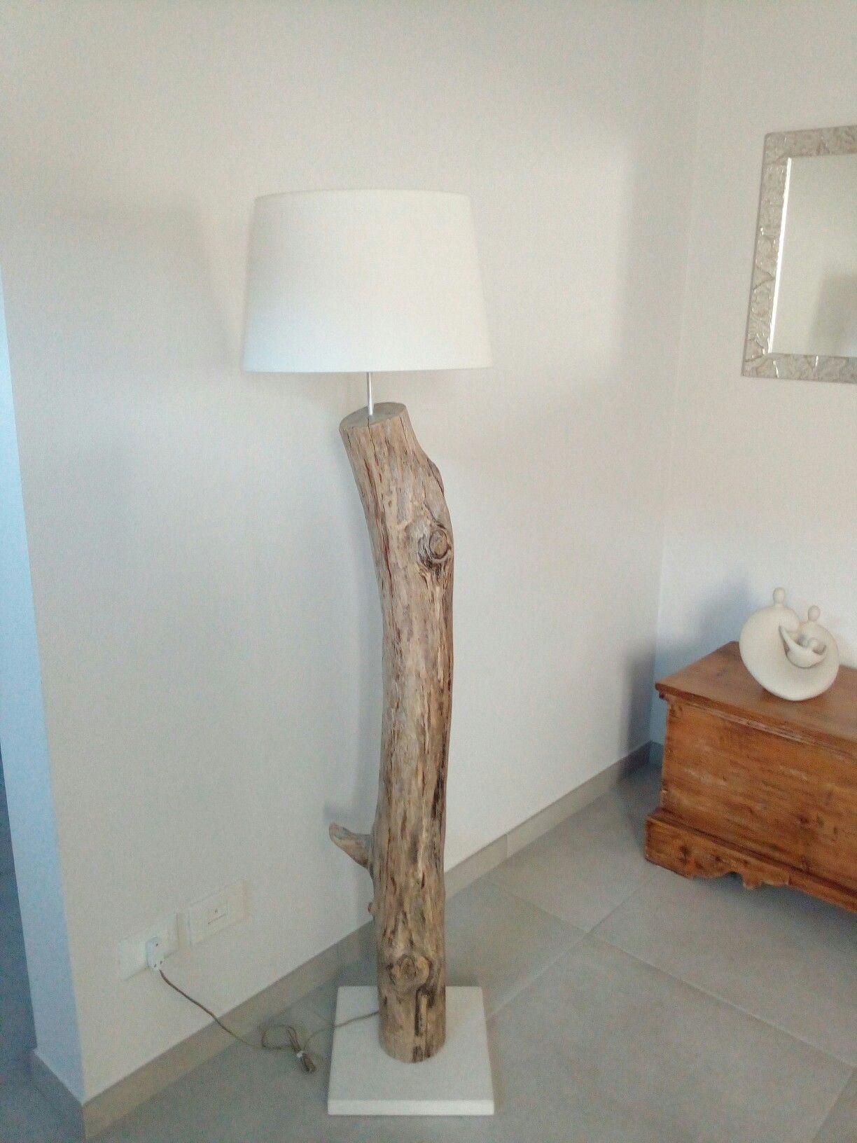 Illuminazione Per Casa Al Mare lampada con tronco di mare (con immagini) | idee per la casa