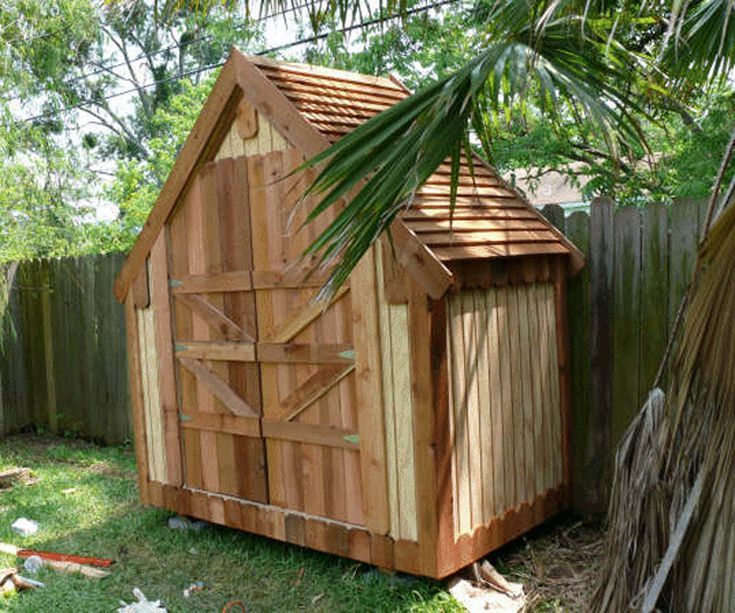 Build A New Storage Shed With One Of These 21 Free Plans: Narrow Backyard  Shed