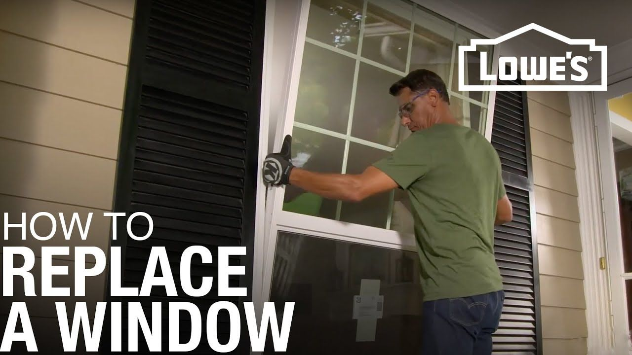 How To Replace a Window YouTube Window installation