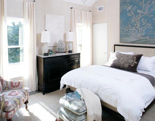 Blue White Brown Bedroom Colors Of Sea Sand In Beautiful Hamptons Home By Xjavierx Via Flickr