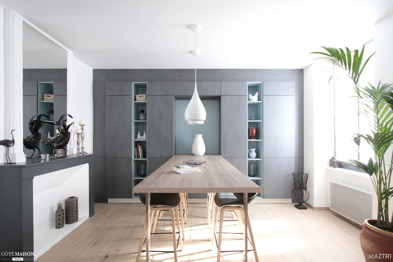 une cuisine zen dans les c vennes maztri c t maison kitchen pinterest cuisine zen. Black Bedroom Furniture Sets. Home Design Ideas