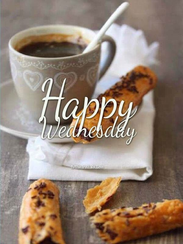 Happy Wednesday Coffee And Biscuits Good Morning Wednesday Hump