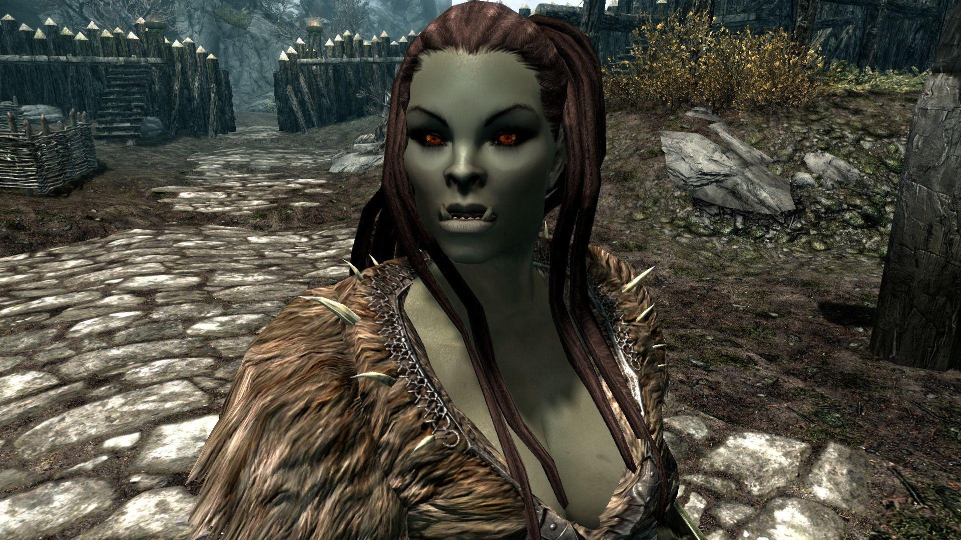 Httpstaticskyrimnexusmodscommodsimages15864 2 1335347698 - Vandrad And Other Half Orcs - Pinterest - Fantasy