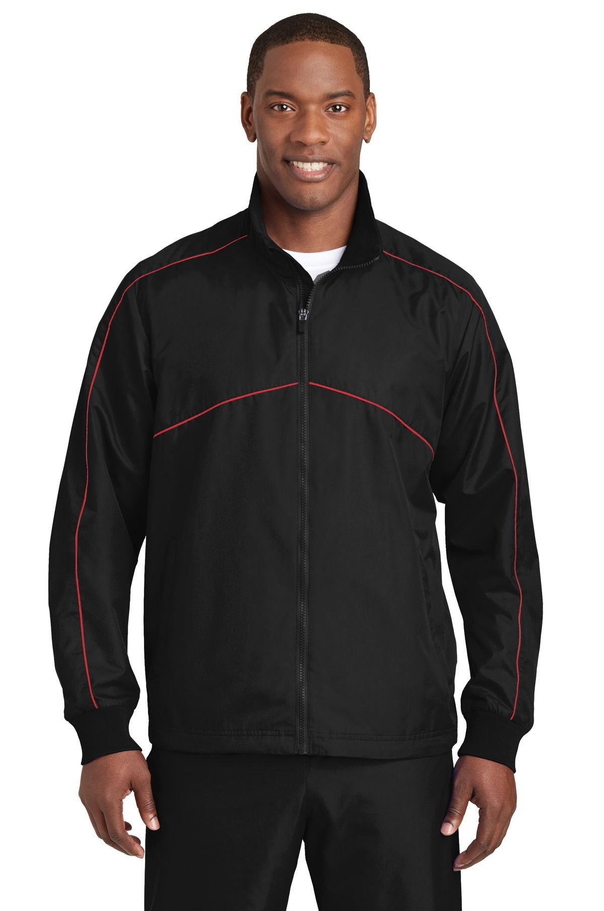 SportTek JST83 Shield Ripstop Jacket Wind resistant