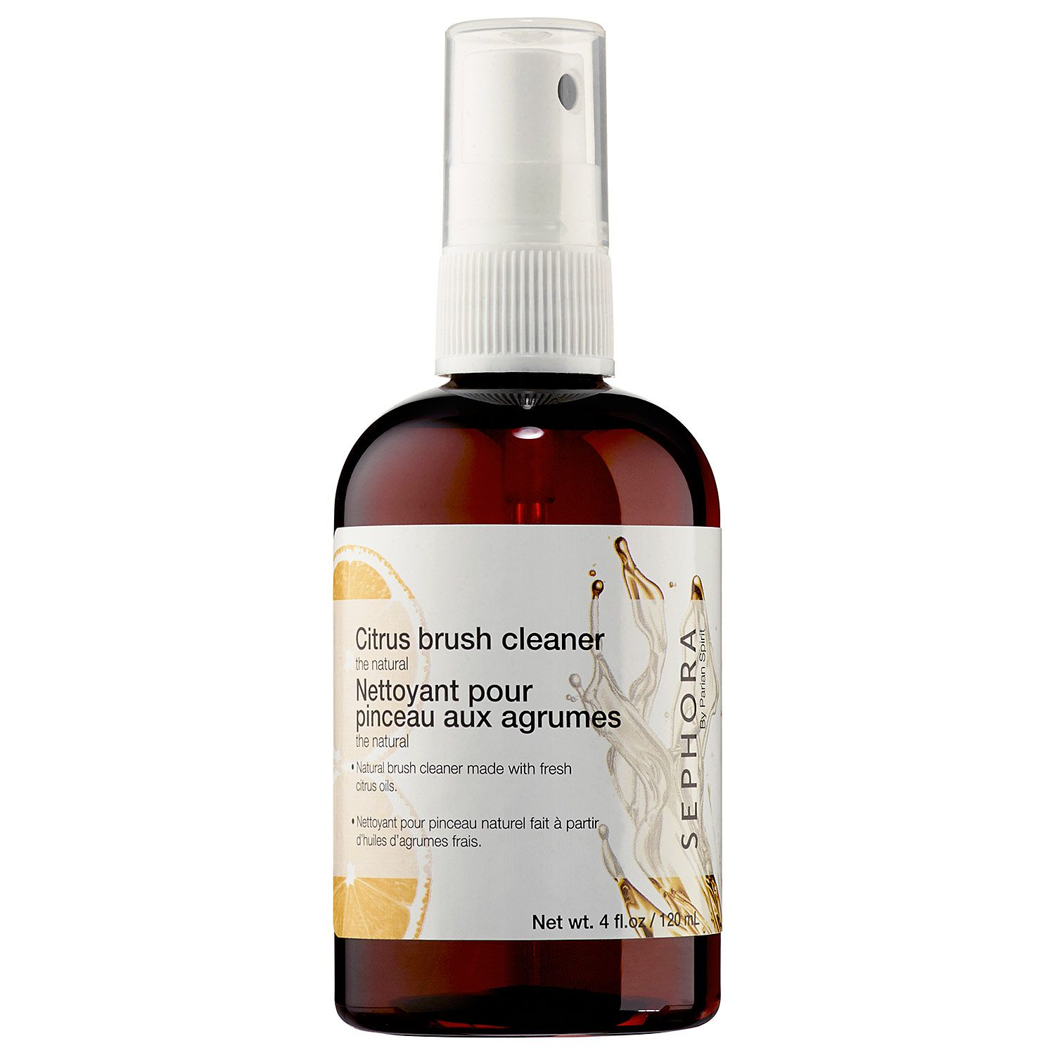 The Natural Citrus Brush Cleaner SEPHORA COLLECTION