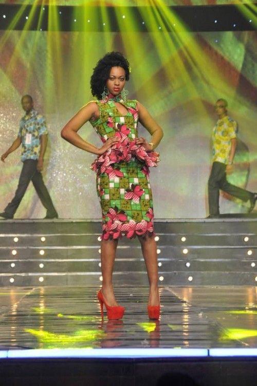 miss cote divoire ivory coast ~African fashion, Ankara, kitenge, African women dresses, African prints, Braids, Nigerian wedding, Ghanaian fashion, African wedding ~DKK