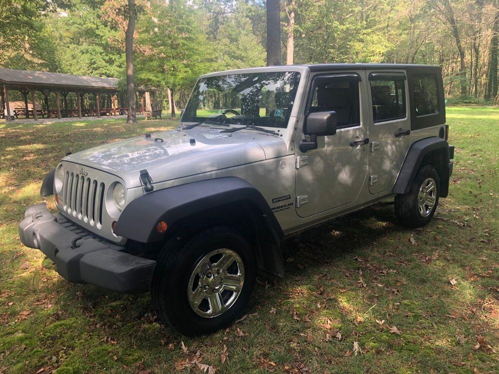 eBay 2010 Jeep Wrangler Unlimited Sport 4WD 2010 Jeep