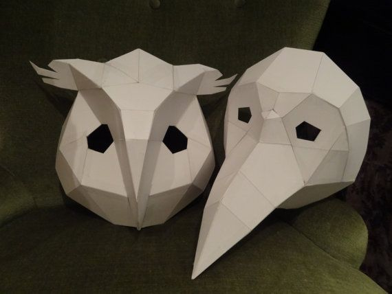You Are Buying The Templates With Simple Instructions To Make Your Own OWL And BIRD