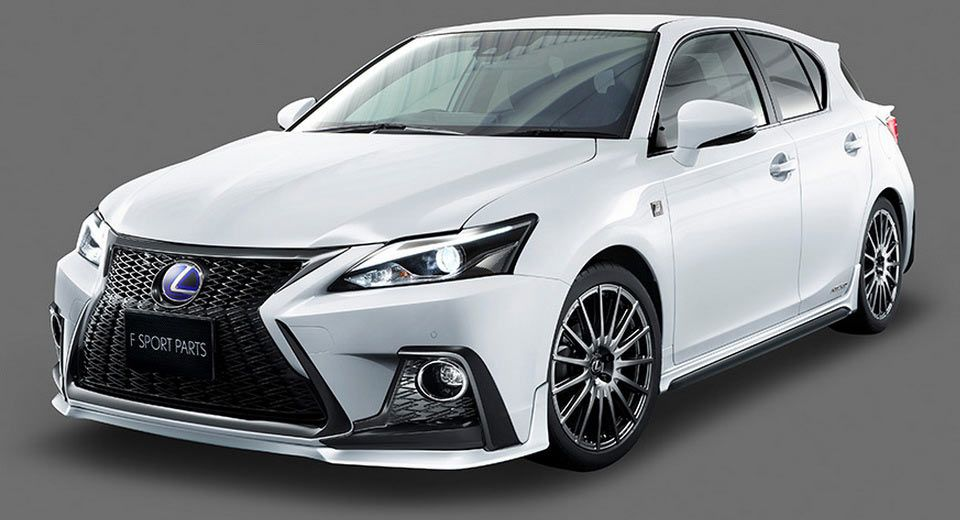 TRD Gives Lexus CT 200h A Hand With New F Sport Bits