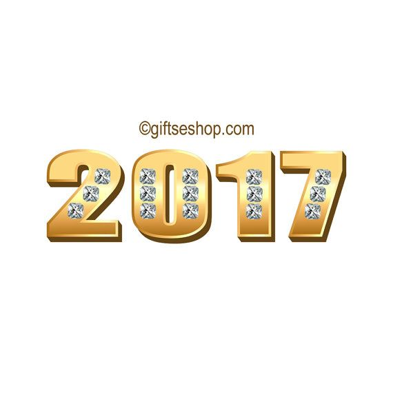 2017 Banner, New Year Clipart, Happy New Year Images, New Year ...
