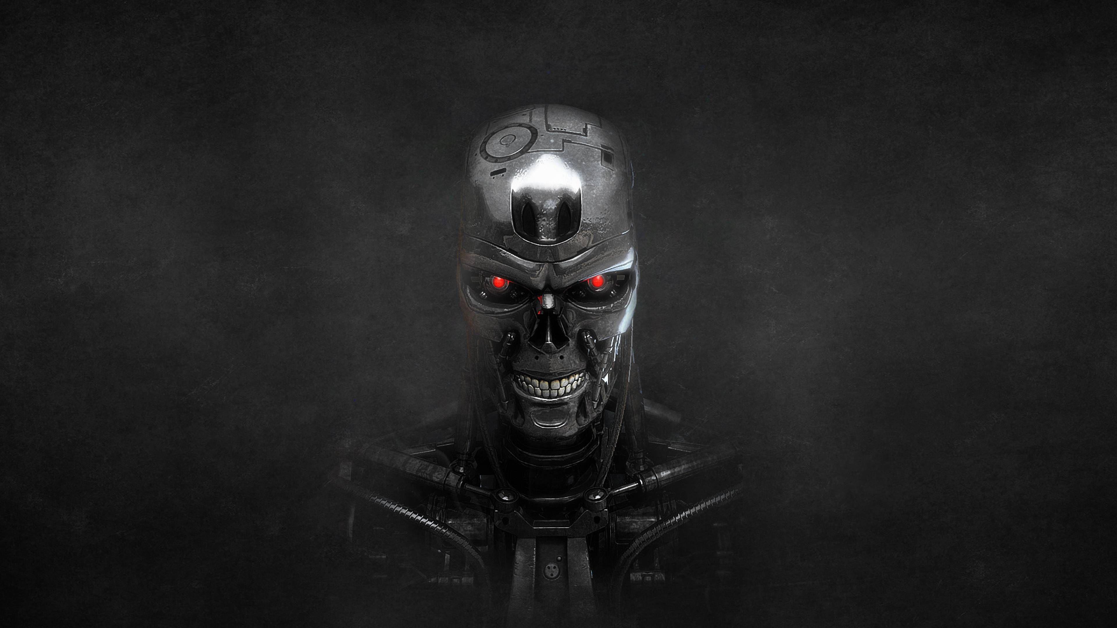 Dark Smoky TerminatorThemed Wallpaper. Hd backgrounds