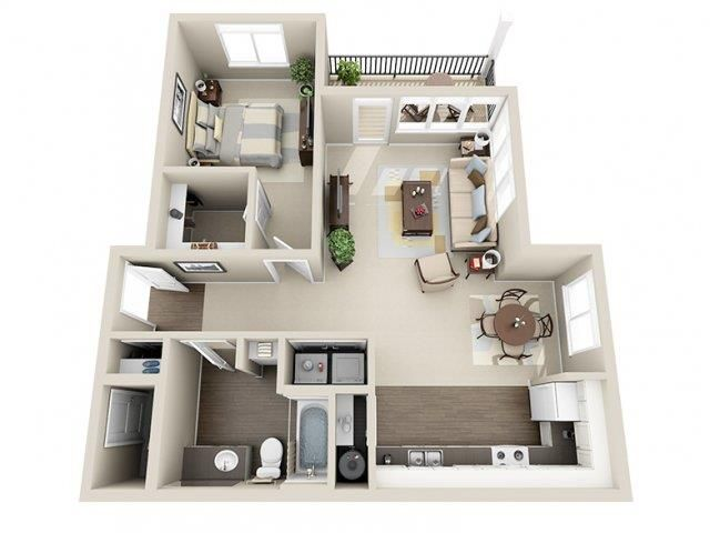 Floor Plans Of River House Apartments In Spokane Valley Wa Apartment Floor Plans House Plans Sims House Design