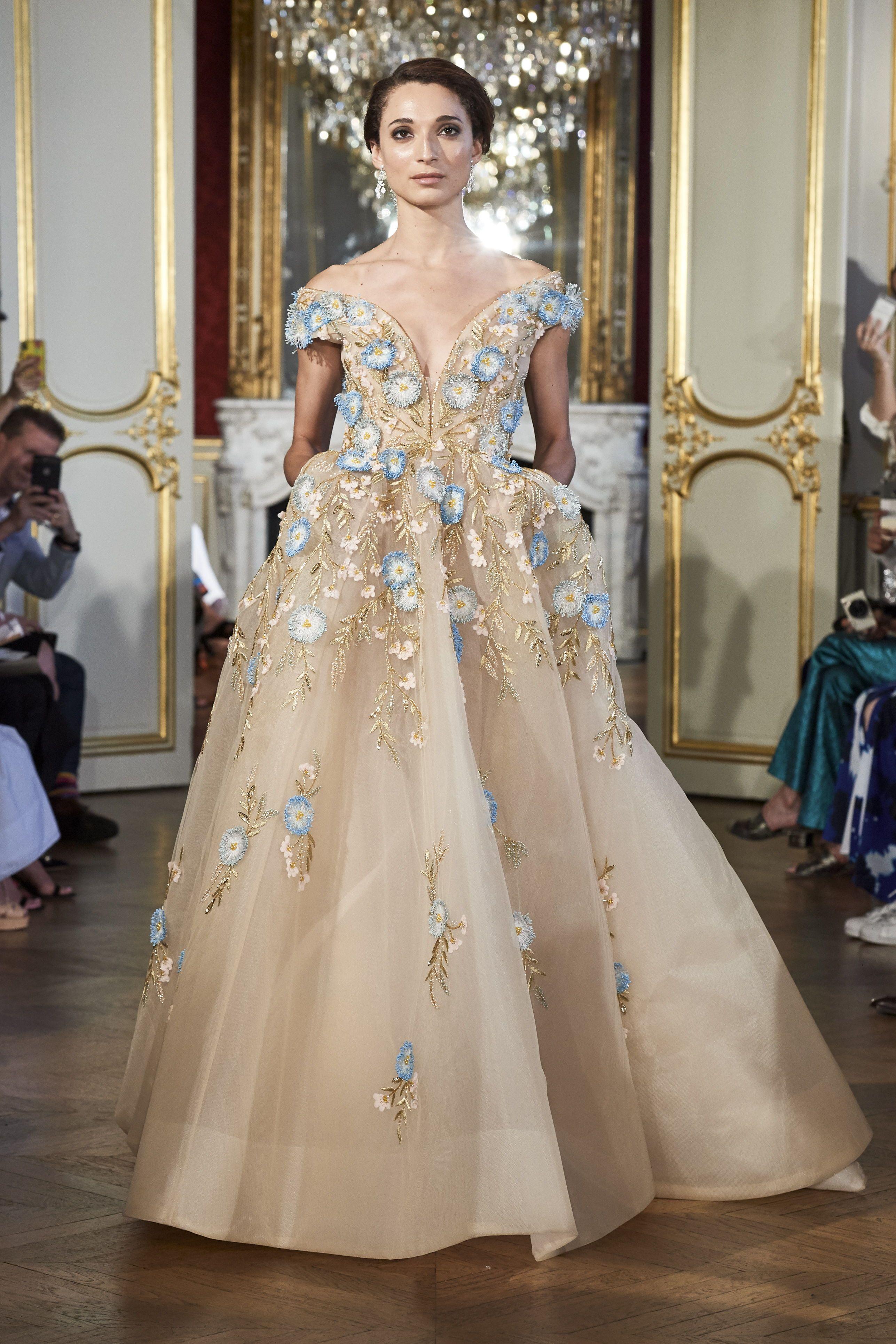 "Steven Khalil Couture 2020 ""Dame en Fleurs"" Runway"