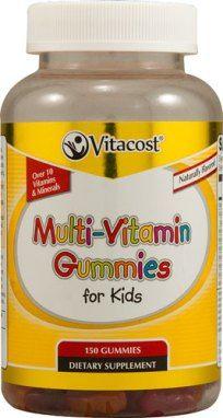 vitacost com multi vitamin gummies for kids good