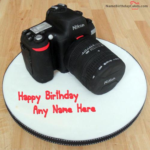 Happy Birthday Photographer Sean Cake