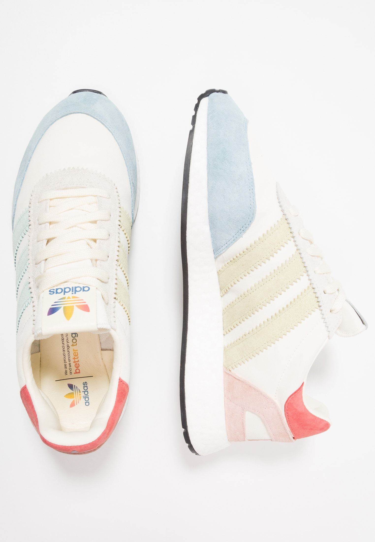 adidas Originals I-5923 PRIDE - Baskets basses - cream white ...