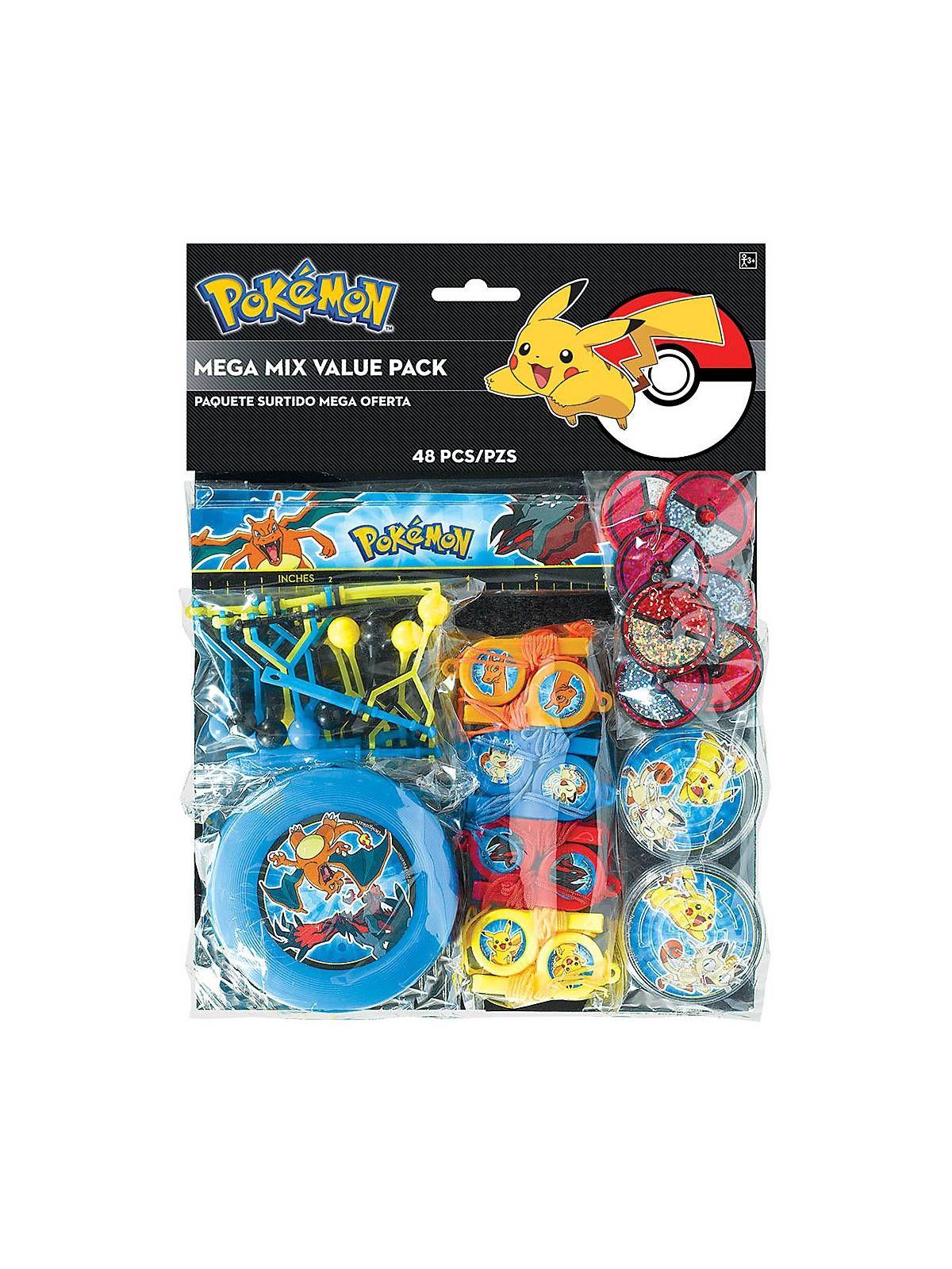 Pokemon Mega Mix Value Pack Favors - Party Favor Sets & Party Supplies