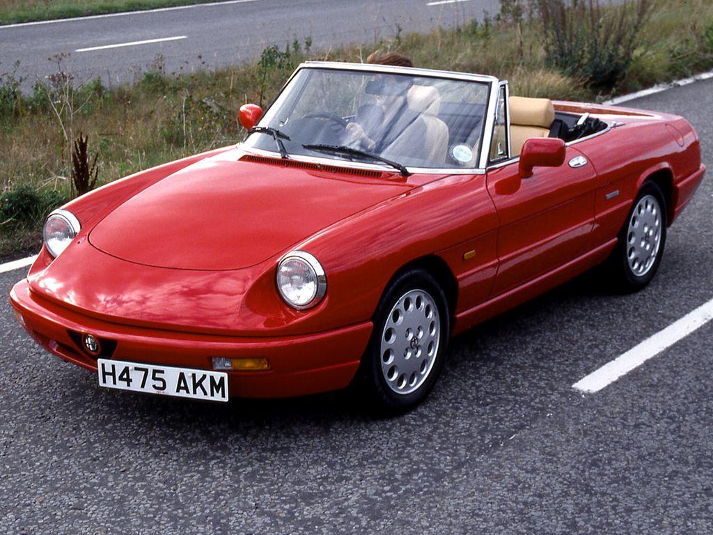 Alfa Romeo Spider >> Alfa Romeo Spider
