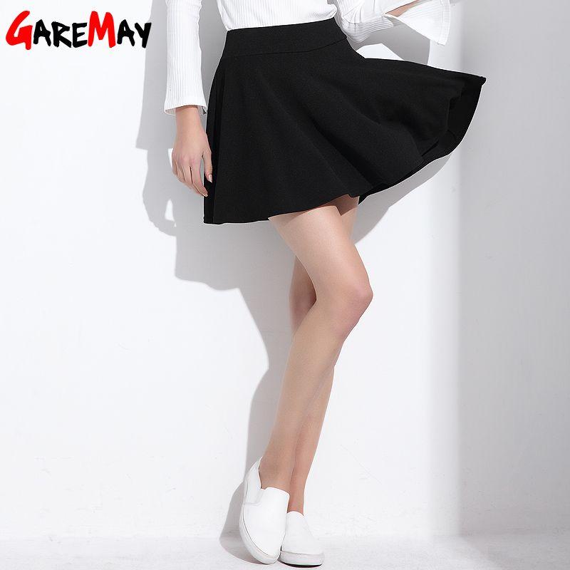 ed4eaf97cd $15.32 - Awesome Short Skirt for Women 2017 All Fit Tutu School Skirt White  Back Color Women Clothing Short Skirts Faldas Ball Gown - Buy it Now!