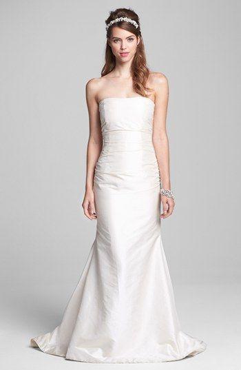 Caroline DeVillo Silk Mermaid Dress & Accessories  available at #Nordstrom