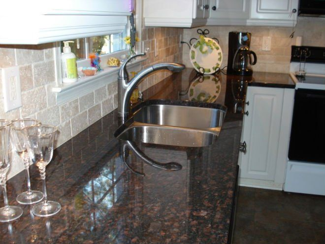 Dark Brown Granite Colors Google Search Tan Brown Granite