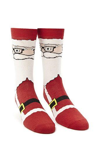 Santa Claus Crew Socks