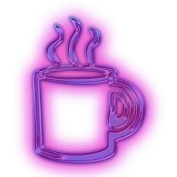 Hot Coffee Cup Cups Icon Hot Coffee Purple Coffee Cups