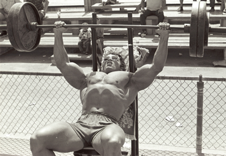 gain muscles with arnold bench press weights pinterest gain