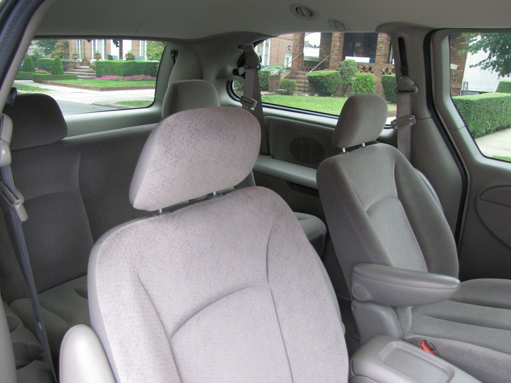 Stow Away The Stow N Go Seats In A Chrysler Or Dodge Minivan