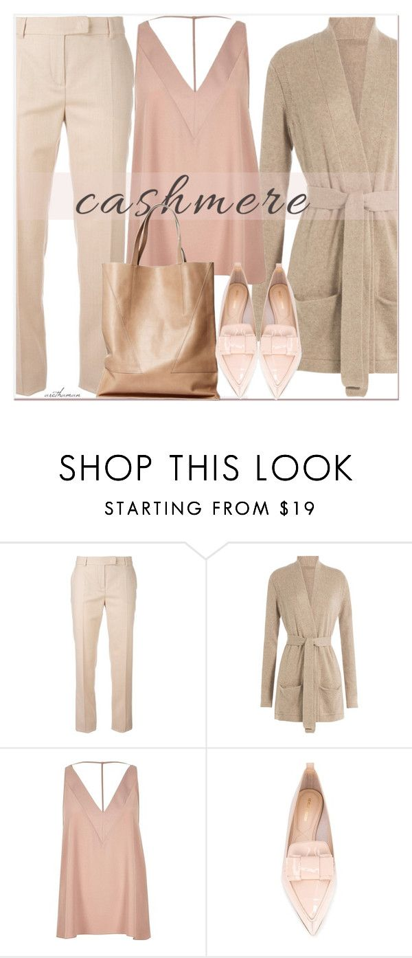 """Cashmere"" by arethaman ❤ liked on Polyvore featuring MaxMara, Closed, River Island, London Edit, Nicholas Kirkwood and cashmere"