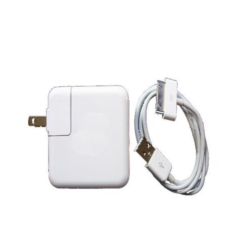 eGizmos Apple USB Plug Wall Charger with 30-pin Data Cable -  See more at: http://bit.ly/XJIYbU