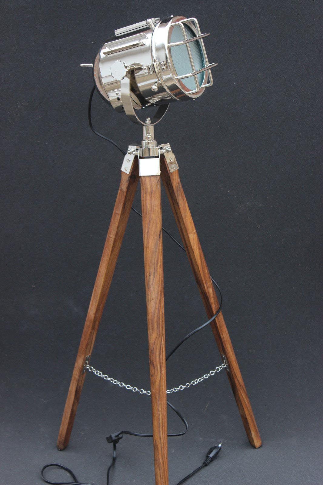 Marine Tripod Floor Lamp Spotlight Floor Lamp Decorative Floor